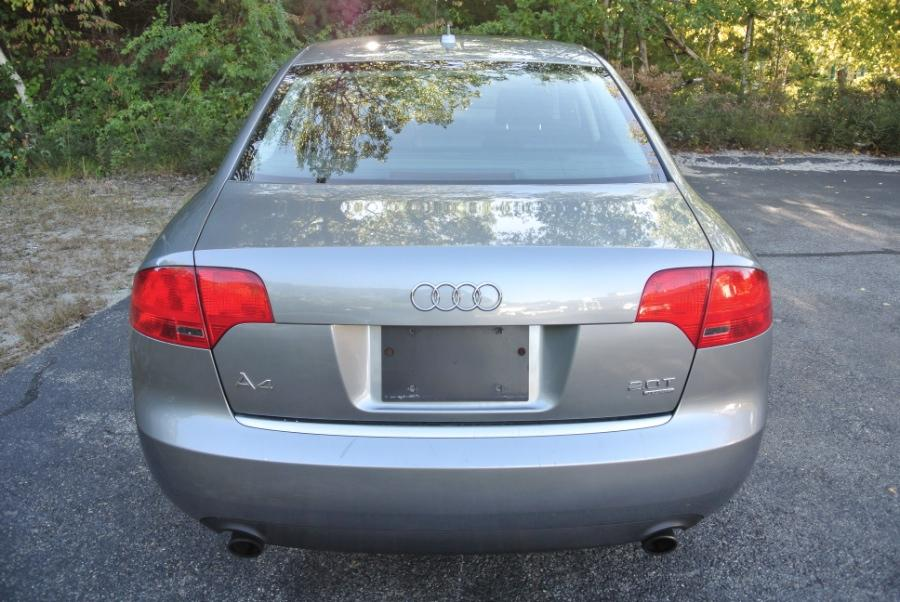 Used 2007 Audi A4 2007 4dr Sdn Auto 2.0T quattro Used 2007 Audi A4 2007 4dr Sdn Auto 2.0T quattro for sale  at Metro West Motorcars LLC in Shrewsbury MA 4