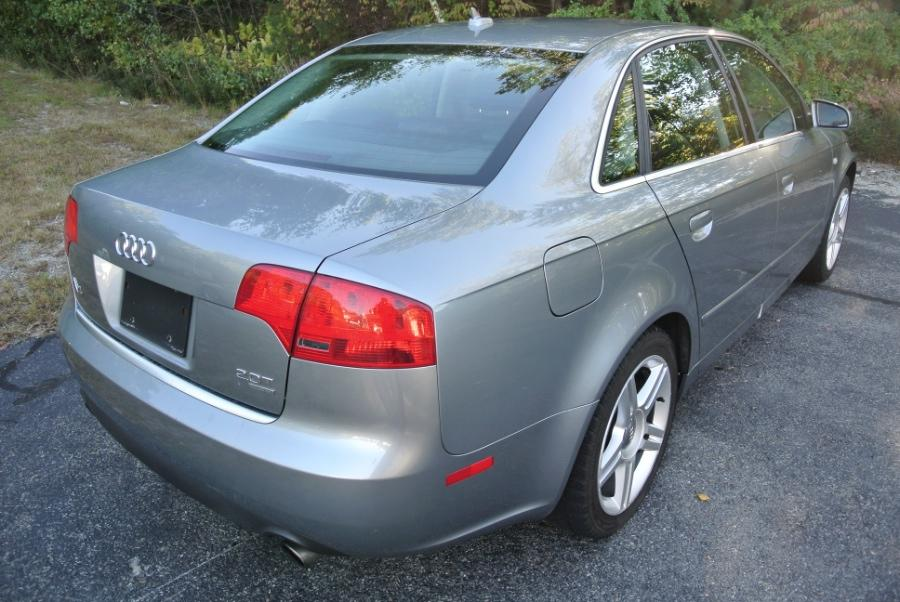 Used 2007 Audi A4 2007 4dr Sdn Auto 2.0T quattro Used 2007 Audi A4 2007 4dr Sdn Auto 2.0T quattro for sale  at Metro West Motorcars LLC in Shrewsbury MA 5