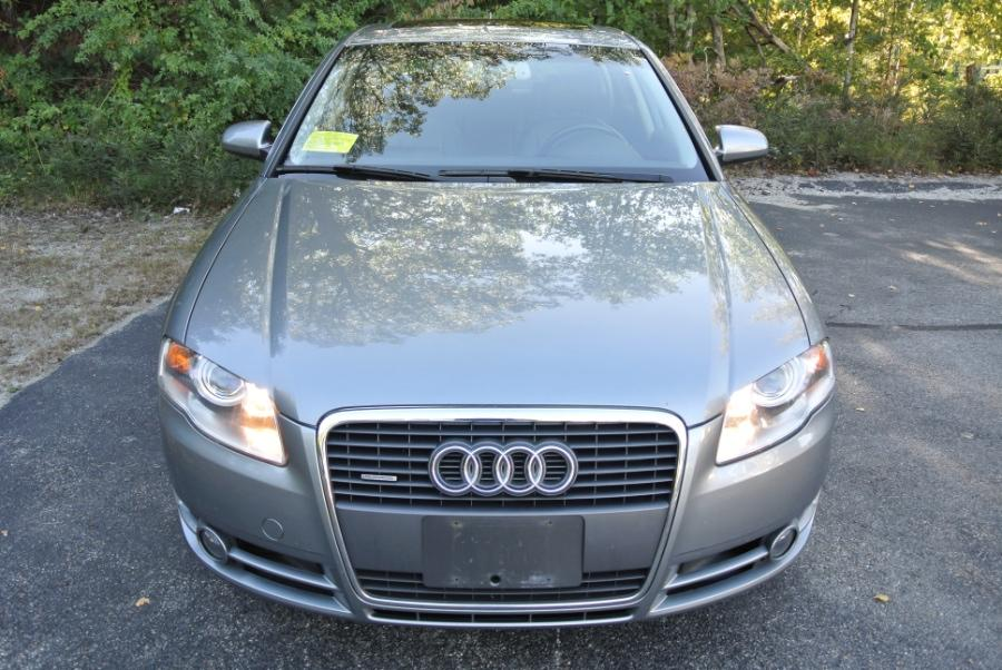Used 2007 Audi A4 2007 4dr Sdn Auto 2.0T quattro Used 2007 Audi A4 2007 4dr Sdn Auto 2.0T quattro for sale  at Metro West Motorcars LLC in Shrewsbury MA 8