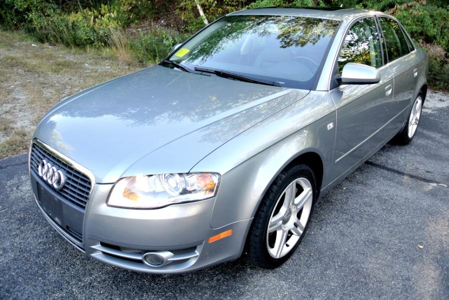 Used 2007 Audi A4 2007 4dr Sdn Auto 2.0T quattro Used 2007 Audi A4 2007 4dr Sdn Auto 2.0T quattro for sale  at Metro West Motorcars LLC in Shrewsbury MA 1