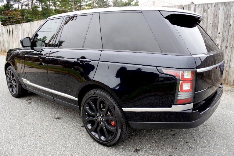 Used 2013 Land Rover Range Rover HSE Used 2013 Land Rover Range Rover HSE for sale  at Metro West Motorcars LLC in Shrewsbury MA 3