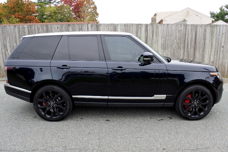 Used 2013 Land Rover Range Rover HSE Used 2013 Land Rover Range Rover HSE for sale  at Metro West Motorcars LLC in Shrewsbury MA 6