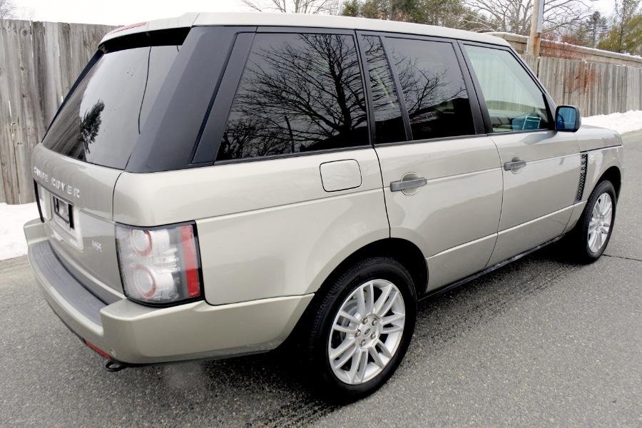 Used 2011 Land Rover Range Rover 4WD 4dr HSE Used 2011 Land Rover Range Rover 4WD 4dr HSE for sale  at Metro West Motorcars LLC in Shrewsbury MA 5