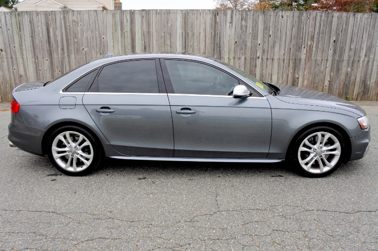 Used 2013 Audi S4 Premium Plus Quattro Used 2013 Audi S4 Premium Plus Quattro for sale  at Metro West Motorcars LLC in Shrewsbury MA 6