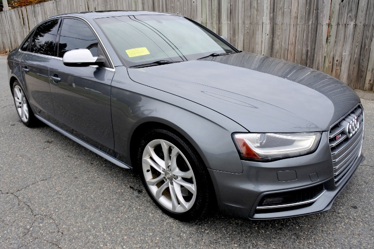 Used 2013 Audi S4 Premium Plus Quattro Used 2013 Audi S4 Premium Plus Quattro for sale  at Metro West Motorcars LLC in Shrewsbury MA 7