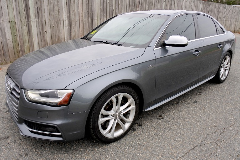 Used 2013 Audi S4 Premium Plus Quattro Used 2013 Audi S4 Premium Plus Quattro for sale  at Metro West Motorcars LLC in Shrewsbury MA 1