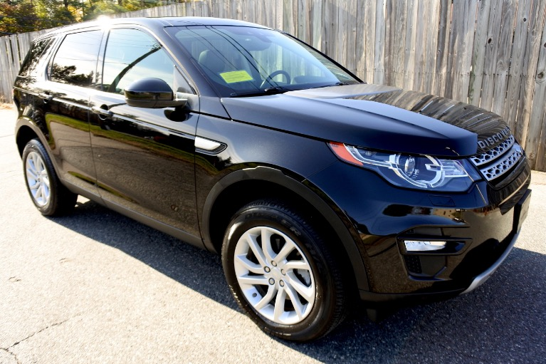 Used 2016 Land Rover Discovery Sport AWD 4dr HSE Used 2016 Land Rover Discovery Sport AWD 4dr HSE for sale  at Metro West Motorcars LLC in Shrewsbury MA 7