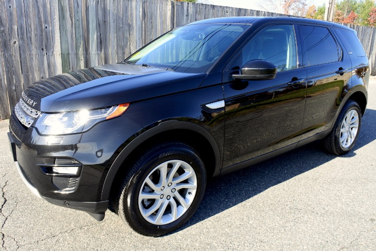 Used 2016 Land Rover Discovery Sport AWD 4dr HSE Used 2016 Land Rover Discovery Sport AWD 4dr HSE for sale  at Metro West Motorcars LLC in Shrewsbury MA 1