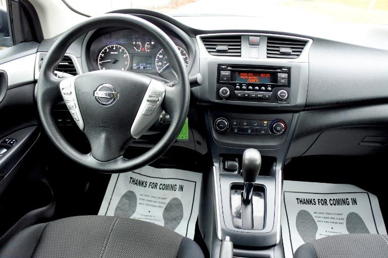 Used 2017 Nissan Sentra S CVT Used 2017 Nissan Sentra S CVT for sale  at Metro West Motorcars LLC in Shrewsbury MA 10