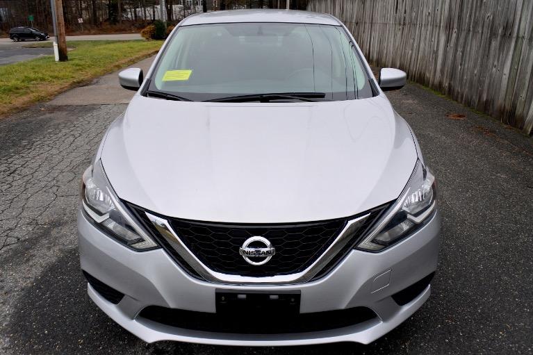 Used 2017 Nissan Sentra S CVT Used 2017 Nissan Sentra S CVT for sale  at Metro West Motorcars LLC in Shrewsbury MA 8