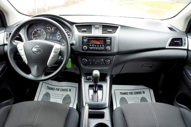 Used 2017 Nissan Sentra S CVT Used 2017 Nissan Sentra S CVT for sale  at Metro West Motorcars LLC in Shrewsbury MA 9