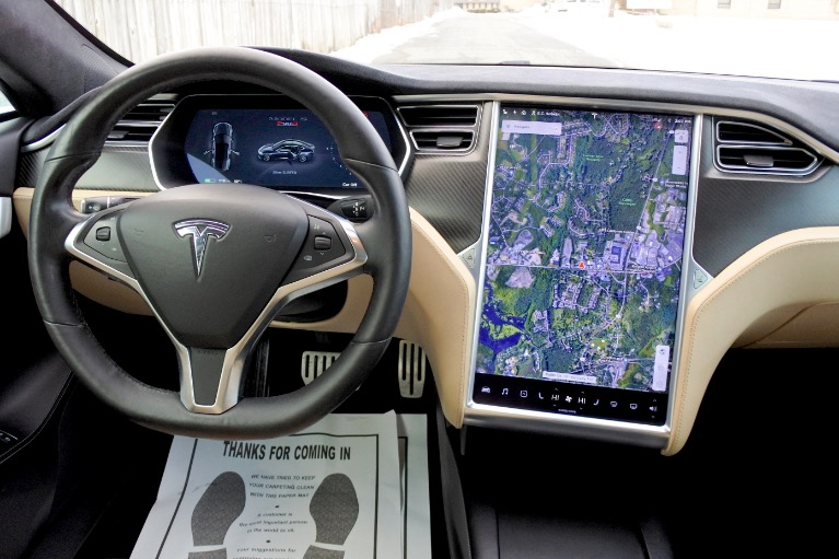 Used 2016 Tesla Model s P90D AWD Used 2016 Tesla Model s P90D AWD for sale  at Metro West Motorcars LLC in Shrewsbury MA 10