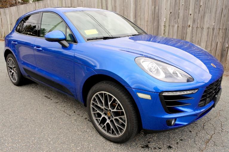Used 2018 Porsche Macan AWD Used 2018 Porsche Macan AWD for sale  at Metro West Motorcars LLC in Shrewsbury MA 7
