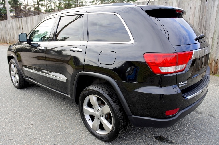 Used 2013 Jeep Grand Cherokee 4WD 4dr Limited Used 2013 Jeep Grand Cherokee 4WD 4dr Limited for sale  at Metro West Motorcars LLC in Shrewsbury MA 3