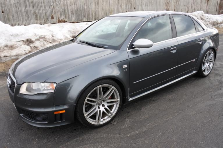 Used 2007 Audi RS 4 4dr Sdn Used 2007 Audi RS 4 4dr Sdn for sale  at Metro West Motorcars LLC in Shrewsbury MA 1