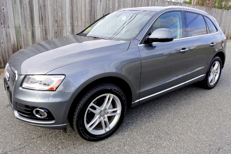 Used Used 2017 Audi Q5 2.0 TFSI Premium Quattro for sale $17,600 at Metro West Motorcars LLC in Shrewsbury MA