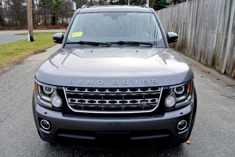 Used 2016 Land Rover Lr4 HSE Silver Edition Used 2016 Land Rover Lr4 HSE Silver Edition for sale  at Metro West Motorcars LLC in Shrewsbury MA 8