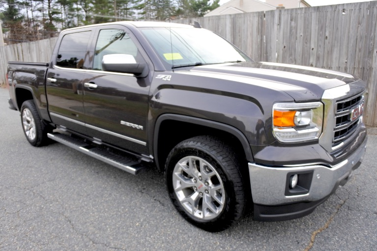 Used 2015 GMC Sierra 1500 4WD Crew Cab 143.5' SLT Used 2015 GMC Sierra 1500 4WD Crew Cab 143.5' SLT for sale  at Metro West Motorcars LLC in Shrewsbury MA 7