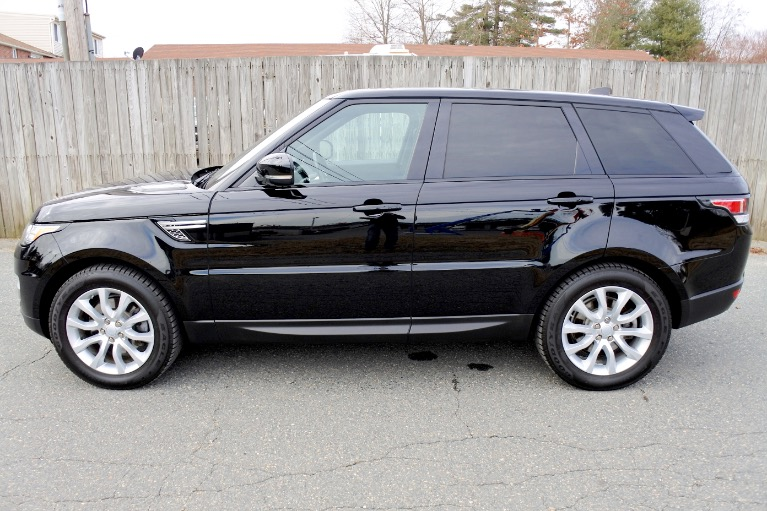 Used 2017 Land Rover Range Rover Sport Td6 HSE Used 2017 Land Rover Range Rover Sport Td6 HSE for sale  at Metro West Motorcars LLC in Shrewsbury MA 2