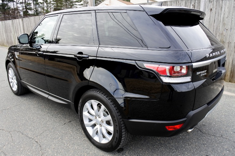 Used 2017 Land Rover Range Rover Sport Td6 HSE Used 2017 Land Rover Range Rover Sport Td6 HSE for sale  at Metro West Motorcars LLC in Shrewsbury MA 3