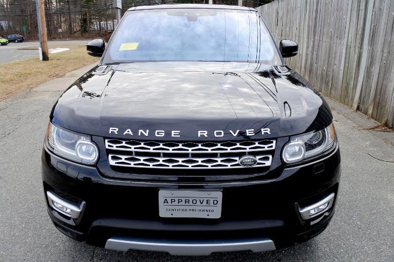 Used 2017 Land Rover Range Rover Sport Td6 HSE Used 2017 Land Rover Range Rover Sport Td6 HSE for sale  at Metro West Motorcars LLC in Shrewsbury MA 8
