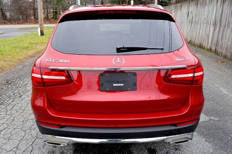 Used 2018 Mercedes-Benz Glc GLC300 4MATIC Used 2018 Mercedes-Benz Glc GLC300 4MATIC for sale  at Metro West Motorcars LLC in Shrewsbury MA 4