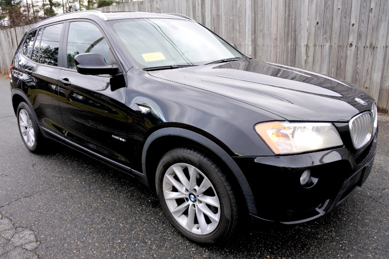 Used 2013 BMW X3 xDrive28i AWD Used 2013 BMW X3 xDrive28i AWD for sale  at Metro West Motorcars LLC in Shrewsbury MA 7