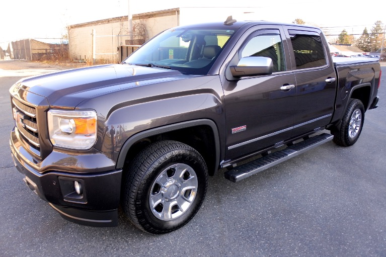 Used Used 2015 GMC Sierra 1500 4WD Crew Cab 143.5' SLT for sale $29,800 at Metro West Motorcars LLC in Shrewsbury MA