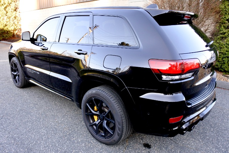 Used 2018 Jeep Grand Cherokee Trackhawk 4x4 *Ltd Avail* Used 2018 Jeep Grand Cherokee Trackhawk 4x4 *Ltd Avail* for sale  at Metro West Motorcars LLC in Shrewsbury MA 3