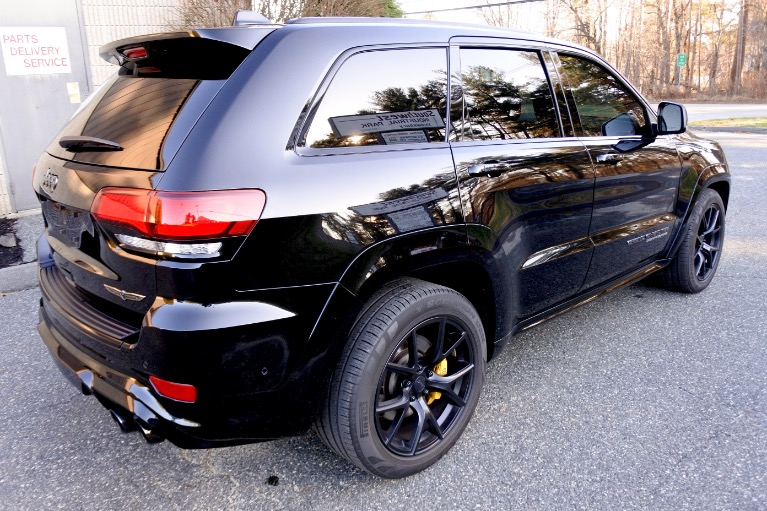 Used 2018 Jeep Grand Cherokee Trackhawk 4x4 *Ltd Avail* Used 2018 Jeep Grand Cherokee Trackhawk 4x4 *Ltd Avail* for sale  at Metro West Motorcars LLC in Shrewsbury MA 5