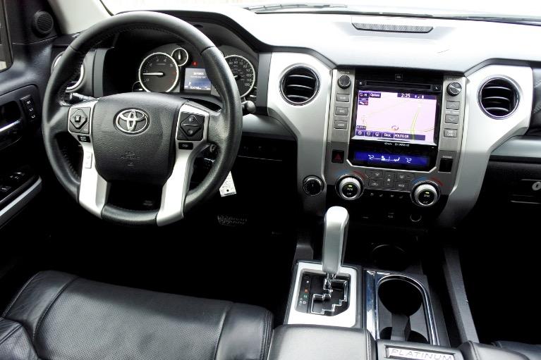 Used 2015 Toyota Tundra 4wd CrewMax 5.7L V8 Platinum Used 2015 Toyota Tundra 4wd CrewMax 5.7L V8 Platinum for sale  at Metro West Motorcars LLC in Shrewsbury MA 10