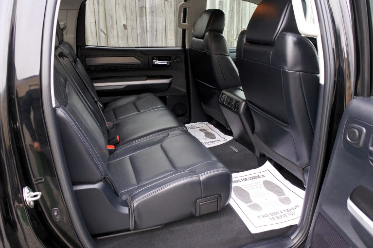 Used 2015 Toyota Tundra 4wd CrewMax 5.7L V8 Platinum Used 2015 Toyota Tundra 4wd CrewMax 5.7L V8 Platinum for sale  at Metro West Motorcars LLC in Shrewsbury MA 18