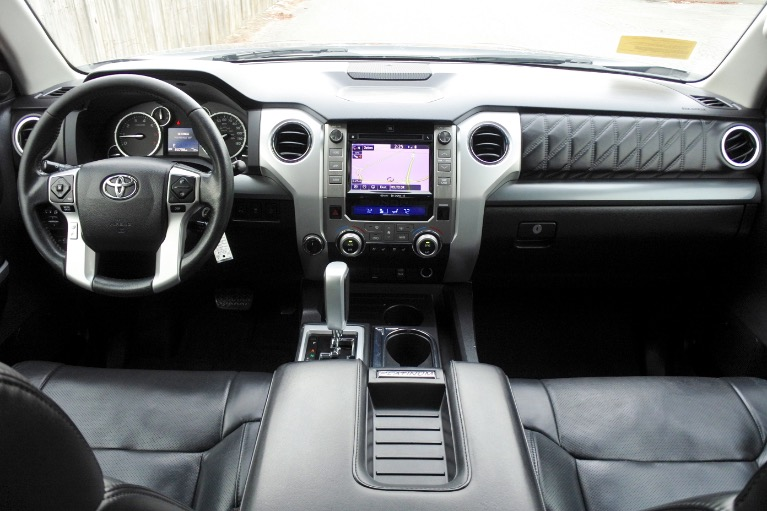 Used 2015 Toyota Tundra 4wd CrewMax 5.7L V8 Platinum Used 2015 Toyota Tundra 4wd CrewMax 5.7L V8 Platinum for sale  at Metro West Motorcars LLC in Shrewsbury MA 9