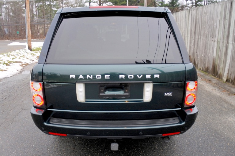 Used 2012 Land Rover Range Rover HSE Used 2012 Land Rover Range Rover HSE for sale  at Metro West Motorcars LLC in Shrewsbury MA 4