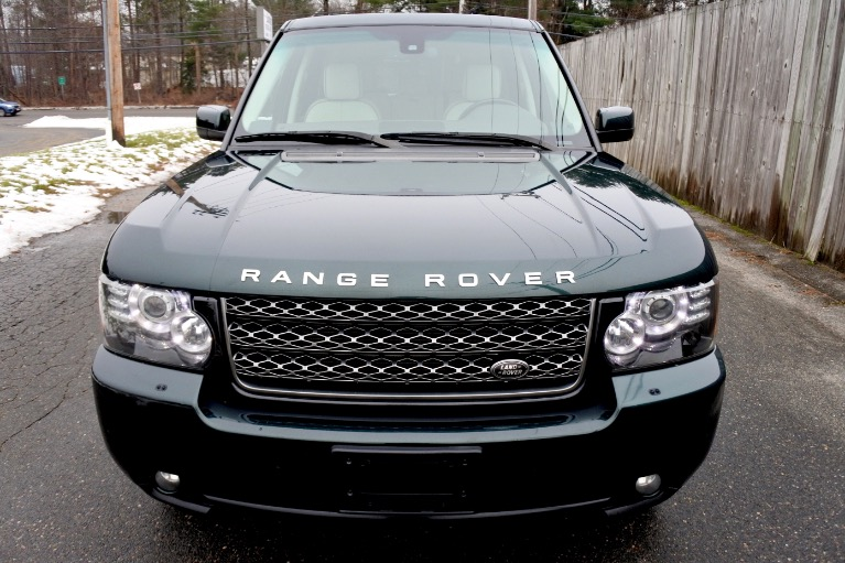 Used 2012 Land Rover Range Rover HSE Used 2012 Land Rover Range Rover HSE for sale  at Metro West Motorcars LLC in Shrewsbury MA 8
