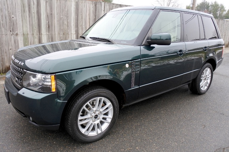 Used 2012 Land Rover Range Rover HSE Used 2012 Land Rover Range Rover HSE for sale  at Metro West Motorcars LLC in Shrewsbury MA 1
