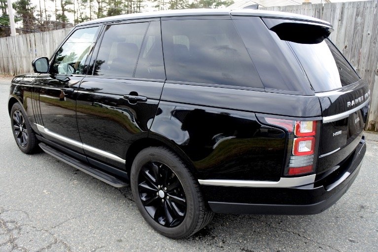 Used 2017 Land Rover Range Rover HSE Used 2017 Land Rover Range Rover HSE for sale  at Metro West Motorcars LLC in Shrewsbury MA 3