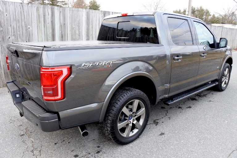 Used 2016 Ford F-150 4WD SuperCrew 145' XLT Used 2016 Ford F-150 4WD SuperCrew 145' XLT for sale  at Metro West Motorcars LLC in Shrewsbury MA 5