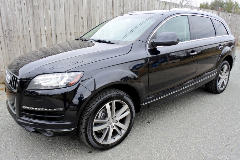 Used Used 2013 Audi Q7 Quattro 3.0T Premium Plus for sale $17,800 at Metro West Motorcars LLC in Shrewsbury MA