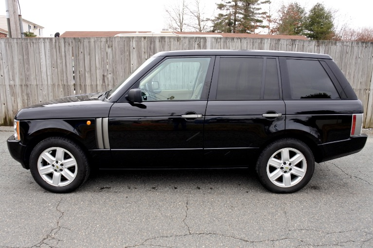 Used 2004 Land Rover Range Rover HSE Used 2004 Land Rover Range Rover HSE for sale  at Metro West Motorcars LLC in Shrewsbury MA 2