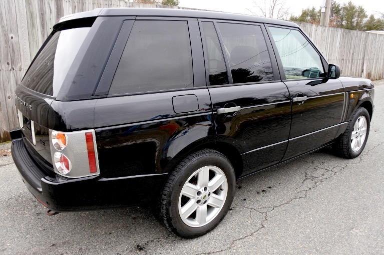 Used 2004 Land Rover Range Rover HSE Used 2004 Land Rover Range Rover HSE for sale  at Metro West Motorcars LLC in Shrewsbury MA 5