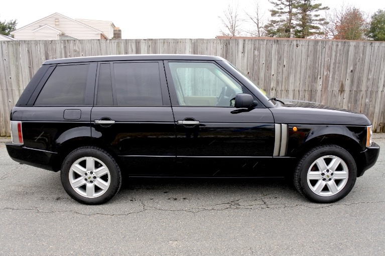 Used 2004 Land Rover Range Rover HSE Used 2004 Land Rover Range Rover HSE for sale  at Metro West Motorcars LLC in Shrewsbury MA 6