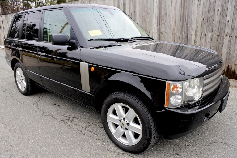 Used 2004 Land Rover Range Rover HSE Used 2004 Land Rover Range Rover HSE for sale  at Metro West Motorcars LLC in Shrewsbury MA 7