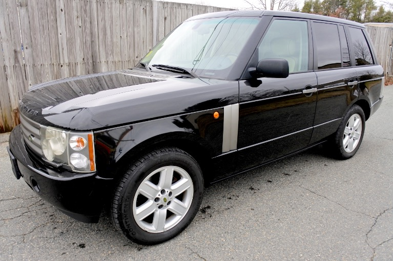 Used 2004 Land Rover Range Rover HSE Used 2004 Land Rover Range Rover HSE for sale  at Metro West Motorcars LLC in Shrewsbury MA 1