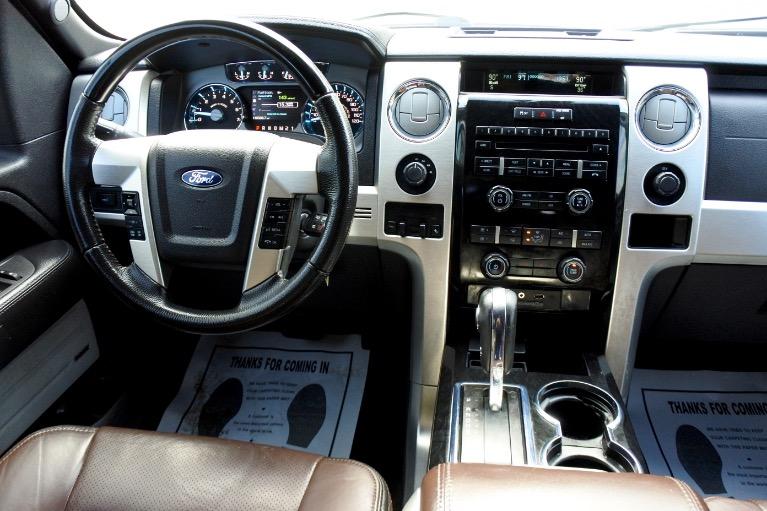 Used 2012 Ford F-150 4WD SuperCrew 145' Platinum Used 2012 Ford F-150 4WD SuperCrew 145' Platinum for sale  at Metro West Motorcars LLC in Shrewsbury MA 10