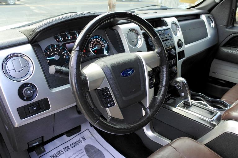Used 2012 Ford F-150 4WD SuperCrew 145' Platinum Used 2012 Ford F-150 4WD SuperCrew 145' Platinum for sale  at Metro West Motorcars LLC in Shrewsbury MA 13