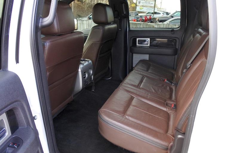 Used 2012 Ford F-150 4WD SuperCrew 145' Platinum Used 2012 Ford F-150 4WD SuperCrew 145' Platinum for sale  at Metro West Motorcars LLC in Shrewsbury MA 15