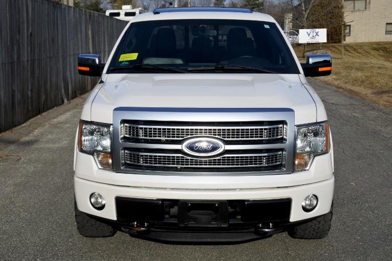 Used 2012 Ford F-150 4WD SuperCrew 145' Platinum Used 2012 Ford F-150 4WD SuperCrew 145' Platinum for sale  at Metro West Motorcars LLC in Shrewsbury MA 8