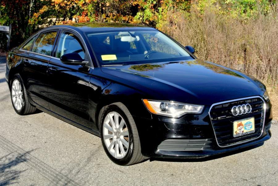 Used 2014 Audi A6 3.0T Premium Plus Quattro Used 2014 Audi A6 3.0T Premium Plus Quattro for sale  at Metro West Motorcars LLC in Shrewsbury MA 7