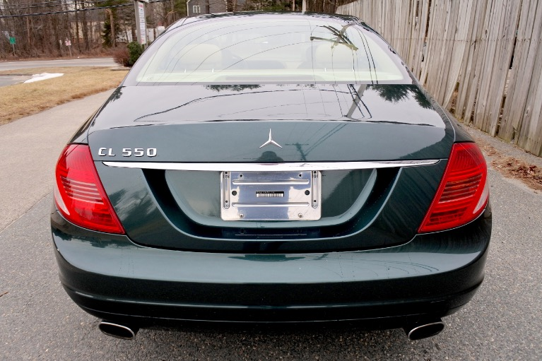 Used 2007 Mercedes-Benz Cl-class 550 5.5L V8 Used 2007 Mercedes-Benz Cl-class 550 5.5L V8 for sale  at Metro West Motorcars LLC in Shrewsbury MA 4